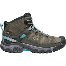 Keen Targhee III Mid WP Chaussures Femme, alcatraz/blue turquoise